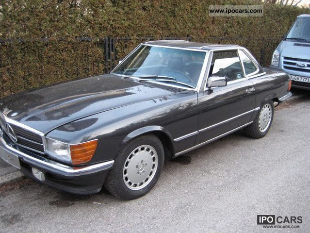 1988 mercedes benz sl 500 car photo and specs. Black Bedroom Furniture Sets. Home Design Ideas