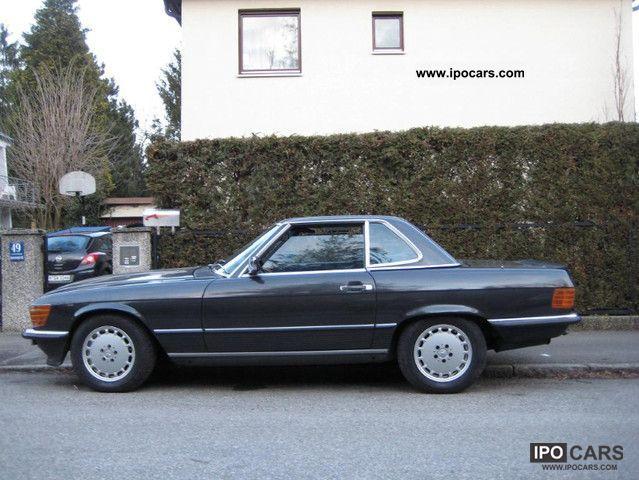 1988 mercedes benz sl 500 car photo and specs for 1988 mercedes benz