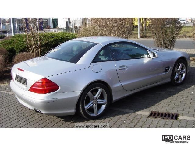 2001 mercedes benz sl 500 in top condition car photo and specs. Black Bedroom Furniture Sets. Home Design Ideas