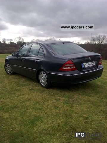 2001 mercedes benz c 220 cdi elegance car photo and specs. Black Bedroom Furniture Sets. Home Design Ideas