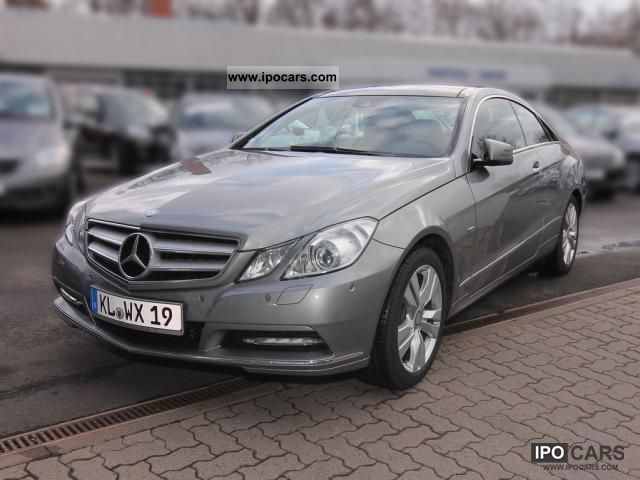 2011 mercedes benz e 350 cgi coupe comand be panoramic for Mercedes benz panoramic roof
