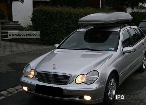 2002 mercedes benz c 200 t cdi avantgarde car photo and. Black Bedroom Furniture Sets. Home Design Ideas