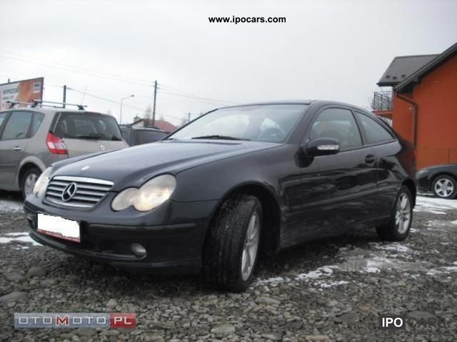 2003 Mercedes-Benz  C. 200 *** PO JAK NOWY OPLATACH 163km ** Sports car/Coupe Used vehicle photo