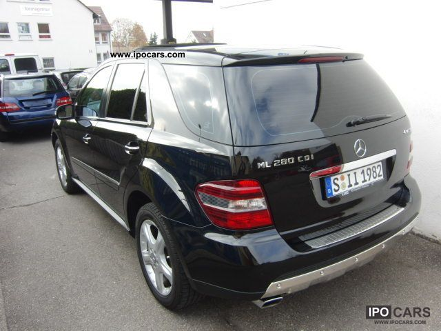 2008 mercedes benz ml 280 cdi 4matic 7g tronic dpf for 2008 mercedes benz truck