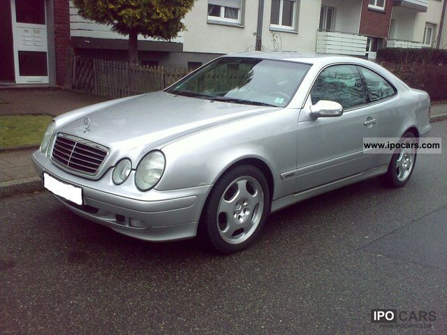 1999 mercedes benz clk coupe 430 elegance leather navi