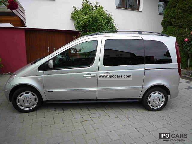 2004 mercedes benz cdi vaneo 1 7 family car photo and specs On mercedes benz family van