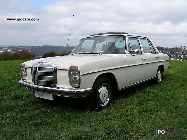 Mercedes-Benz  230 .6 / 8 W 114 H-approval 1972 Vintage, Classic and Old Cars photo