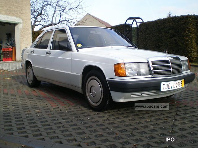 1989 Mercedes-Benz  190 D Limousine Used vehicle photo