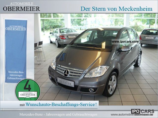 2010 Mercedes-Benz  A 160 Avantgarde BlueEFF AIR NSW seats Limousine Used vehicle photo