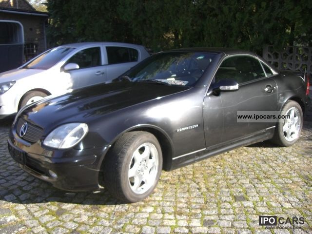 2000 mercedes benz slk 200 kompressor car photo and specs. Black Bedroom Furniture Sets. Home Design Ideas