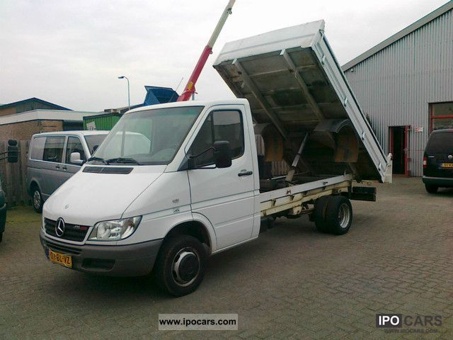 2004 Mercedes-Benz  Sprinter 416CDI 3.5t tipper crane climate Other Used vehicle photo