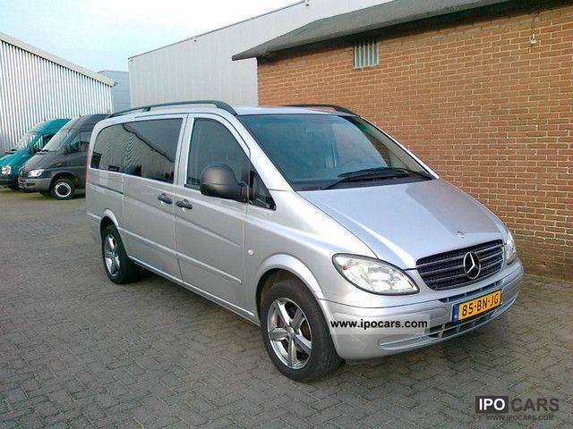 2004 mercedes benz vito 111 cdi long 5sitzer truck climate car photo and specs. Black Bedroom Furniture Sets. Home Design Ideas