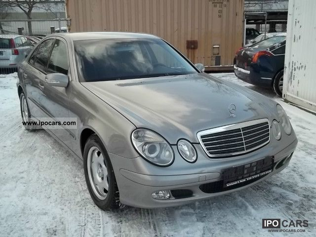 2004 mercedes benz e class e 320 cdi classic car photo and specs. Black Bedroom Furniture Sets. Home Design Ideas
