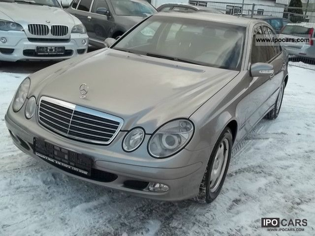 2004 mercedes benz e class e 320 cdi classic car photo for Mercedes benz e class 320