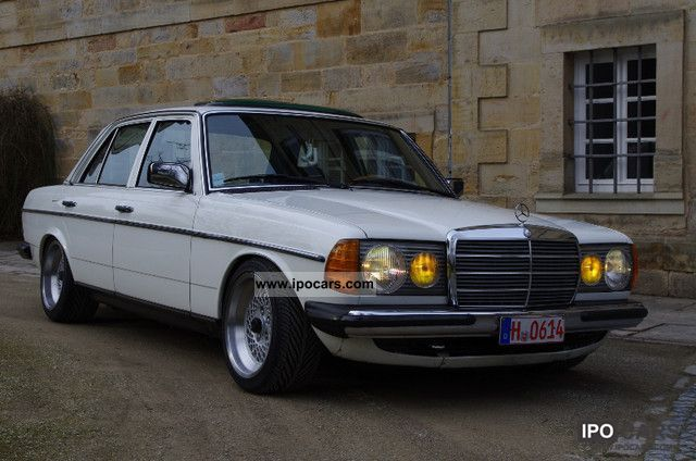 1982 mercedes benz 230e 2 hd 128tkm scheckh 8 and 9 x for Mercedes benz 230e