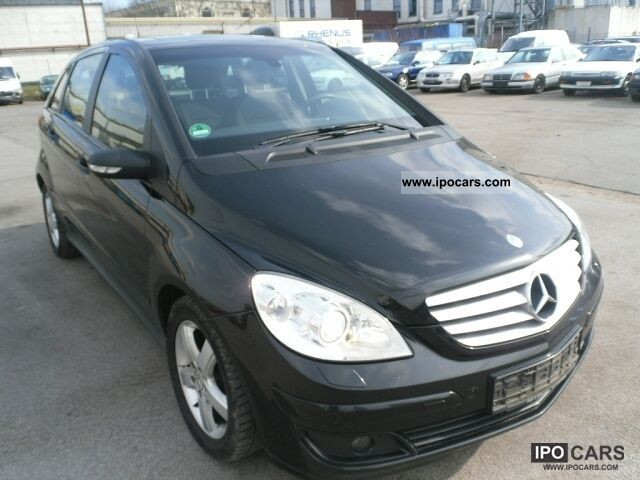 2006 mercedes benz b 180 cdi car photo and specs. Black Bedroom Furniture Sets. Home Design Ideas