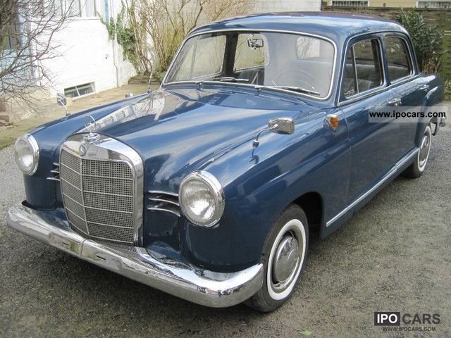 1959 mercedes benz 190 diesel ponton car photo and specs for 1959 mercedes benz