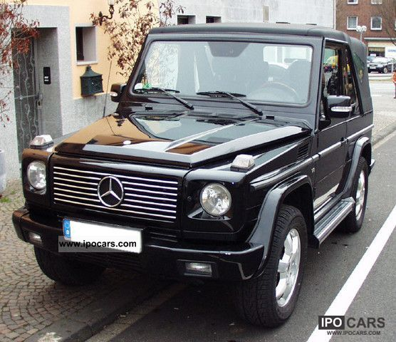 2006 mercedes benz g 400 cdi cabrio v8 automatic rar. Black Bedroom Furniture Sets. Home Design Ideas