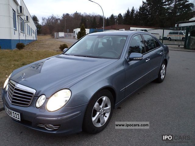 2007 Mercedes-Benz  E 320 CDI Avantgarde 7G-TRONIC Limousine Used vehicle photo