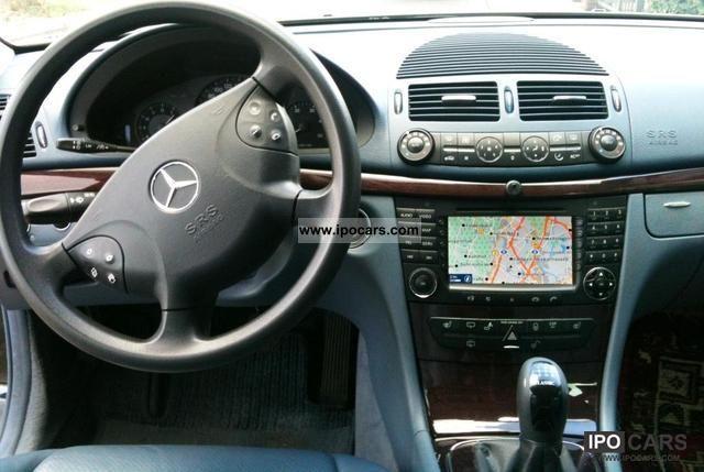 2004 mercedes-benz e 220 cdi classic dpf - car photo and specs