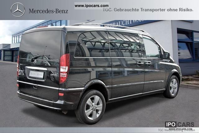 2011 mercedes benz viano trend 2 2 edition compact 6 seats. Black Bedroom Furniture Sets. Home Design Ideas