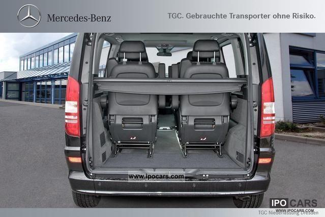 2011 Mercedes Benz Viano Trend 2 2 Edition Compact 6 Seats