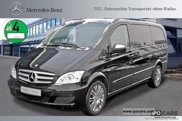 2011 Mercedes-Benz  Viano Ambiente 3.0 edition long AHK 2.5t, xenon Van / Minibus Demonstration Vehicle photo