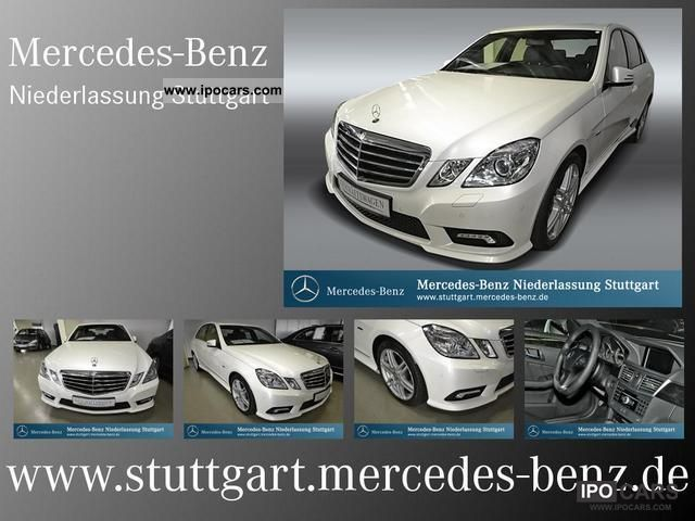 2011 Mercedes-Benz  E 250 CGI BlueEFF avant sport leather xenon Limousine Demonstration Vehicle photo