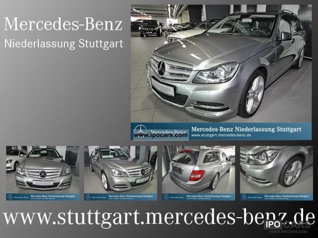 2011 Mercedes-Benz  C 200 CGI T Bluee avant Comand panoramic roof Estate Car Demonstration Vehicle photo