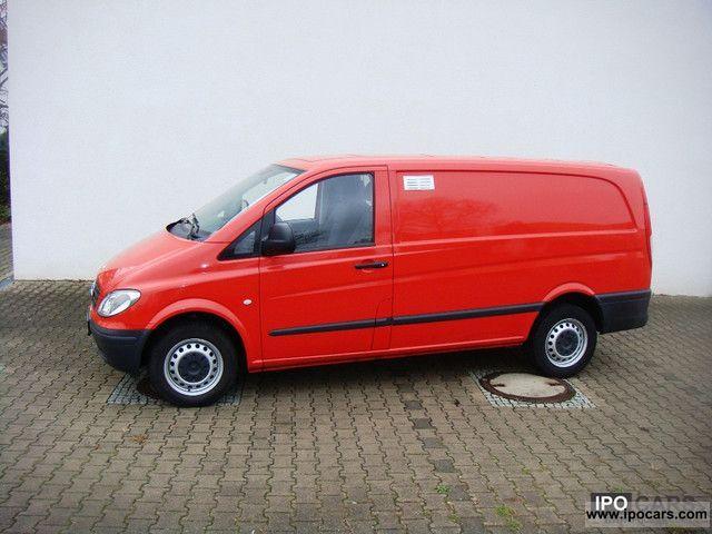 2007 mercedes benz vito 109 cdi long dpf air euro4 car photo and specs. Black Bedroom Furniture Sets. Home Design Ideas