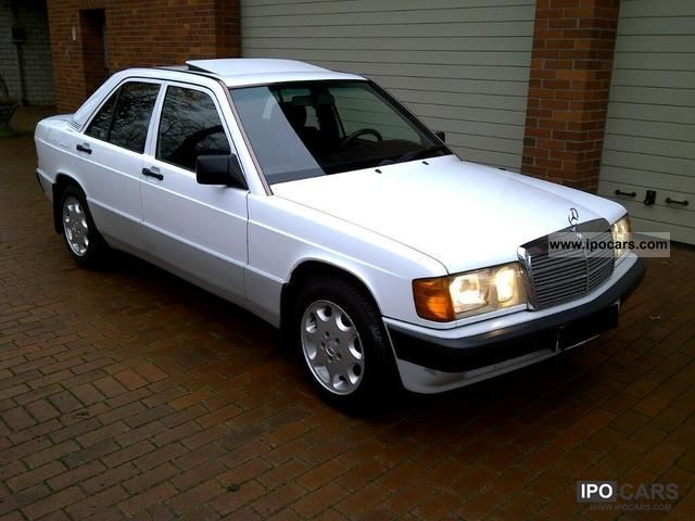 1992 Mercedes-Benz  190 D Limousine Used vehicle photo