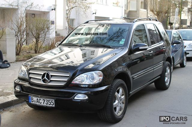 2003 Mercedes Benz Ml 400 Cdi Inspiration Car Photo And