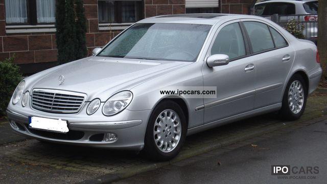 2004 mercedes benz e 320 cdi classic dpf car photo and specs for Mercedes benz e 320 cdi