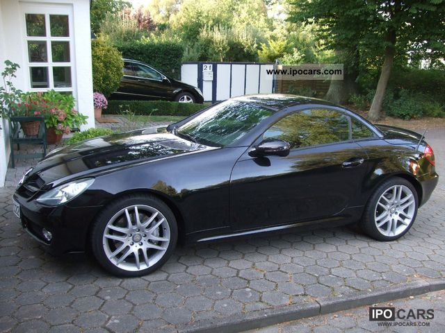 2008 mercedes benz slk 200 kompressor automatic car. Black Bedroom Furniture Sets. Home Design Ideas