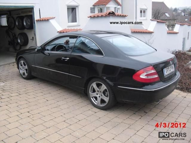 2003 mercedes benz clk 200 kompressor avantgarde coupe. Black Bedroom Furniture Sets. Home Design Ideas