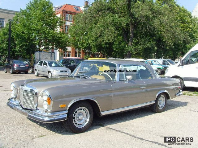 Mercedes-Benz  280 SE Coupe 3.5 / Flachküler W111 1970 Vintage, Classic and Old Cars photo