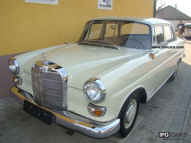 1964 Mercedes-Benz  190 NEW GUTACHTE PIKERL ORIGINAL TOP!!! Limousine Used vehicle photo