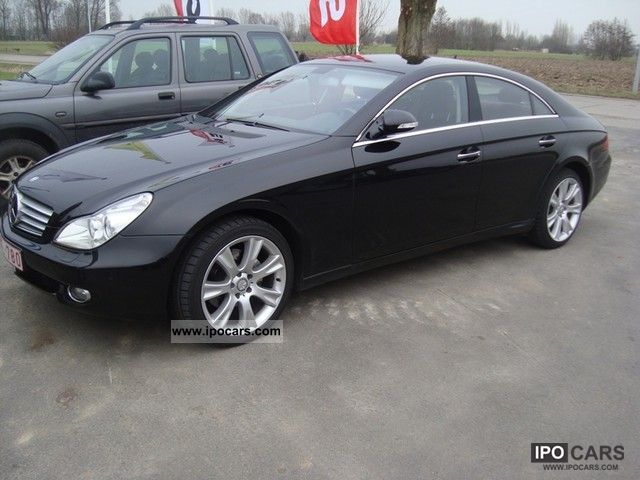 2008 Mercedes-Benz  CLS 320 CDI EXPORT 21 700 EURO Limousine Used vehicle photo