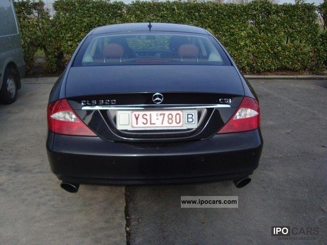 2008 mercedes benz cls 320 cdi export 21 700 euro car. Black Bedroom Furniture Sets. Home Design Ideas