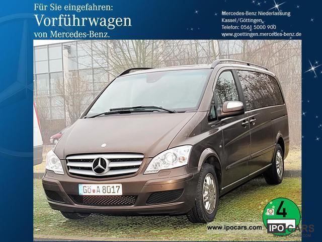 2012 Mercedes-Benz  Viano 3.0 CDI Ambiente Long Comand Van / Minibus Demonstration Vehicle photo