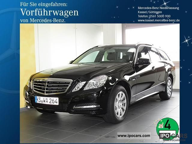 2012 Mercedes-Benz  E 350 CDI Avantgarde BE Comand Airmatic ILS Estate Car Demonstration Vehicle photo