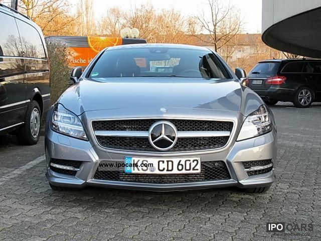 2012 mercedes-benz cls 350 cdi amg sports package comand airmatic