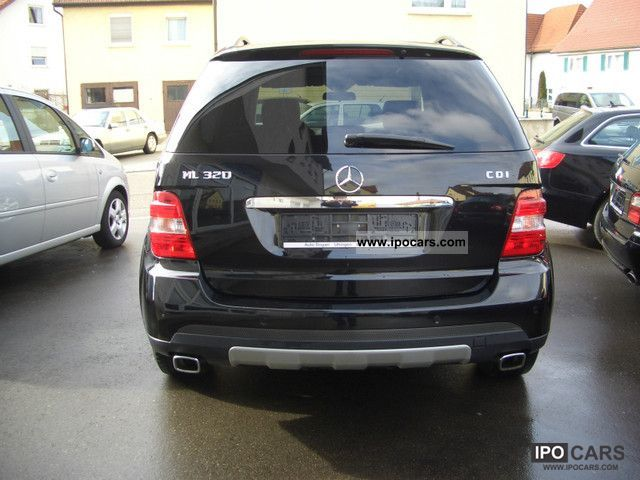2005 mercedes benz ml 320 cdi 4matic 7g tronic dpf car photo and specs. Black Bedroom Furniture Sets. Home Design Ideas