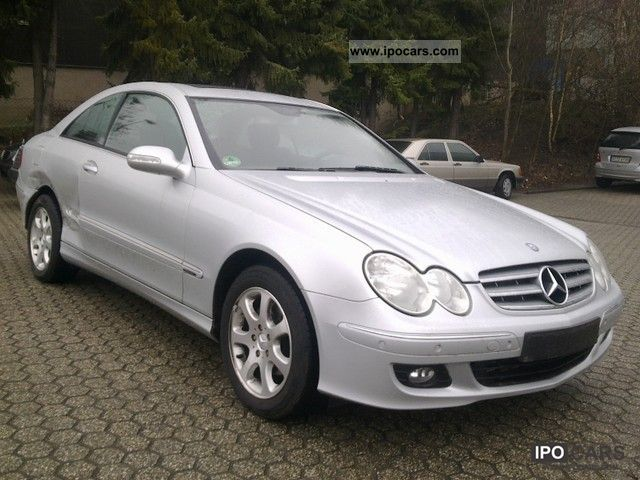 2007 mercedes benz clk 200 kompressor automatic elegance. Black Bedroom Furniture Sets. Home Design Ideas