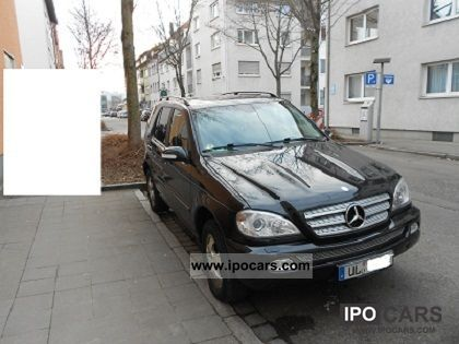 2004 Mercedes-Benz  ML 400 CDI Inspiration Off-road Vehicle/Pickup Truck Used vehicle photo