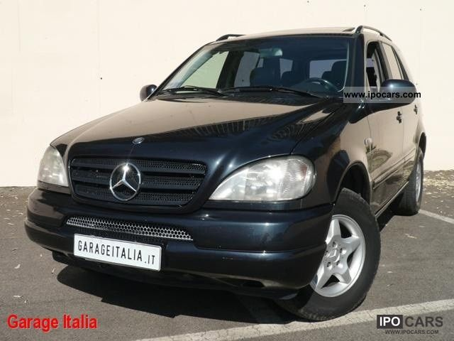 2001 mercedes benz ml 270 cdi automatica tetto pelle. Black Bedroom Furniture Sets. Home Design Ideas