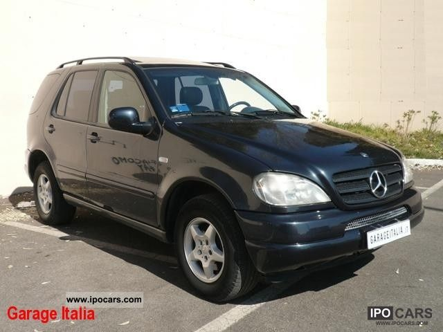 2001 mercedes benz ml 270 cdi automatica tetto pelle gancio traino car photo and specs. Black Bedroom Furniture Sets. Home Design Ideas
