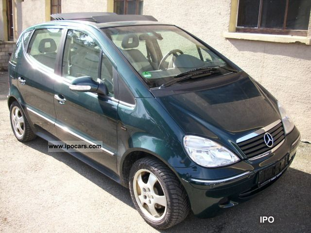 2003 mercedes benz a 170 cdi elegance l car photo and specs. Black Bedroom Furniture Sets. Home Design Ideas