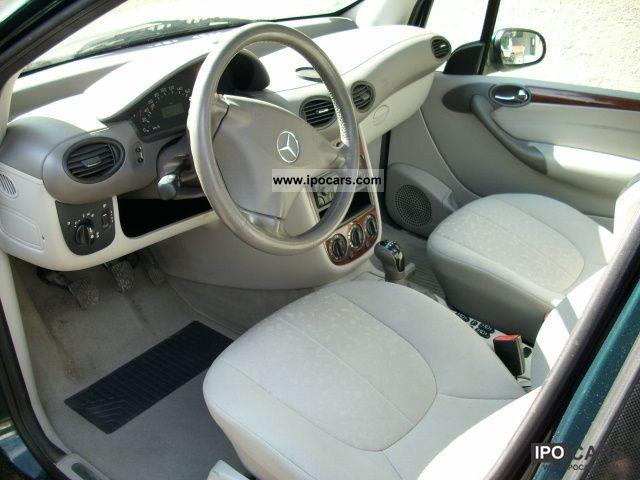 2003 mercedes benz a 170 cdi elegance l car photo and specs. Black Bedroom Furniture Sets. Home Design Ideas