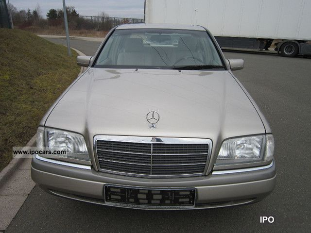 1995 mercedes benz c 180 elegance car photo and specs. Black Bedroom Furniture Sets. Home Design Ideas